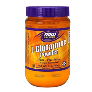 Healthiest foods - An image of a popular glutamine powder sold on Amazon.