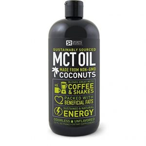 Healthiest foods - MCT oil as sold in Amazon, great for medium chain triglycerides