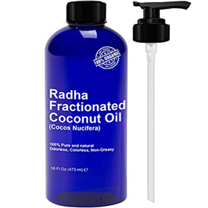 Radha Fractionated Coconut Oil