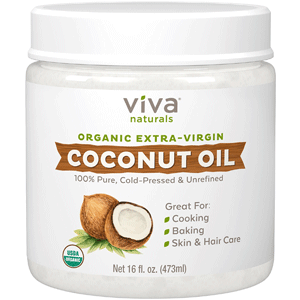 Viva Naturals coconut oil our highest rated coconut oil!