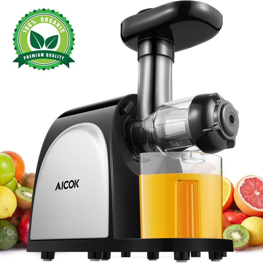 Aicok Slow Masticating Juice Extractor Cold Press Machine