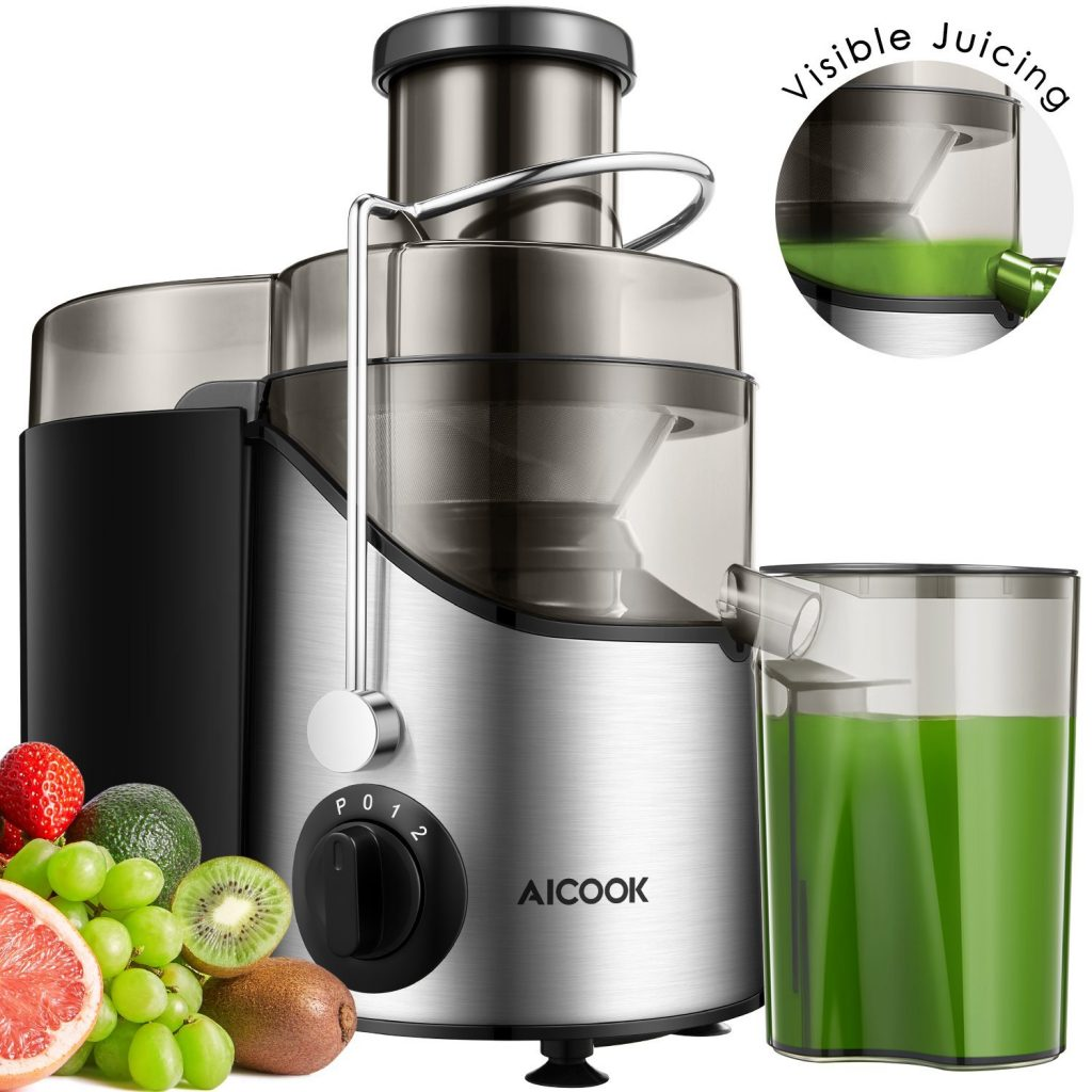 Wide Mouth Stainless Steel Centrifugal Juicer