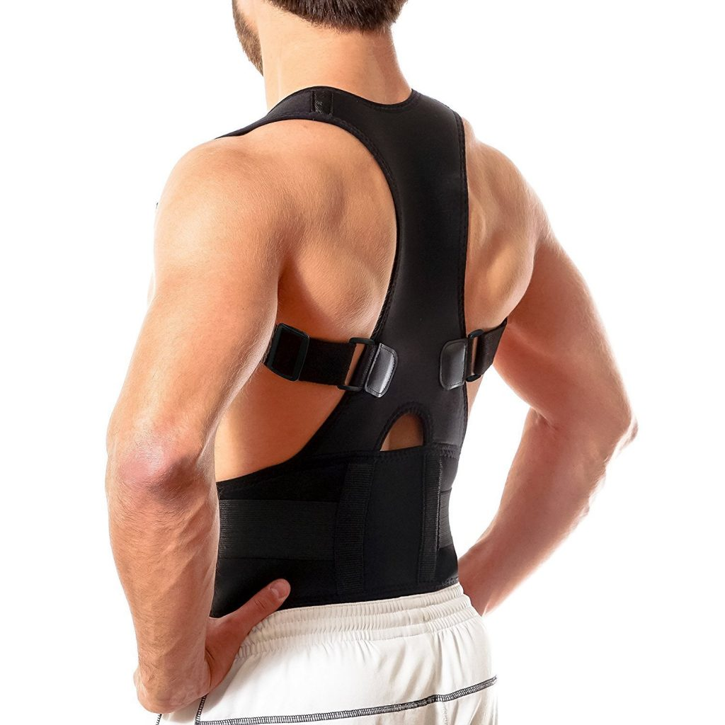 An image of a back brace posture corrector.