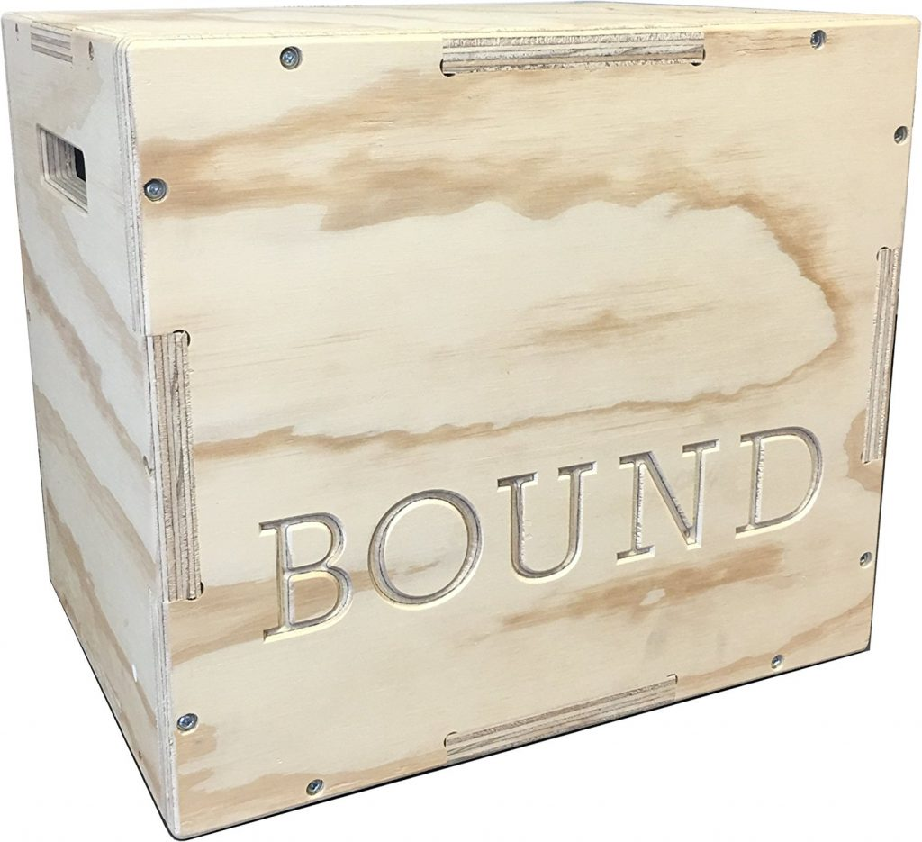Bound plyo box jump set, easy to assemble and perfect for crossfit.