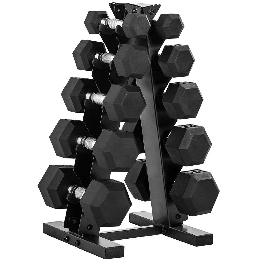 150 lb dumbbell and weight set