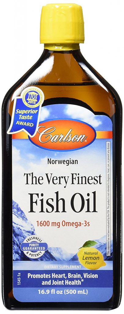 Carlsons very best fish oil