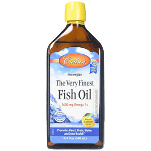 Carlsons very finest fish oil