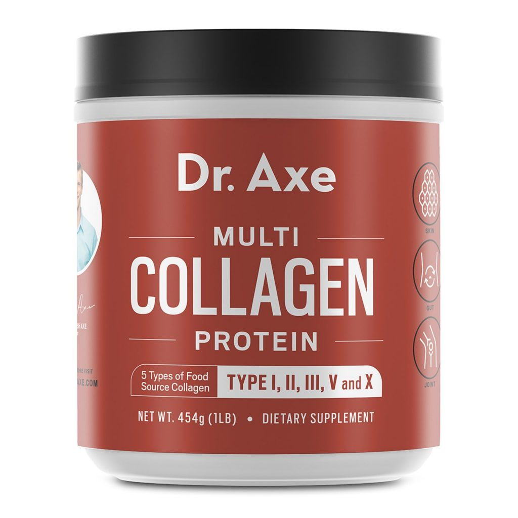High-Quality Blend of Grass-Fed Beef, Chicken, Wild Fish and Eggshell Collagen Peptides, Providing Type I, II, III, V and X