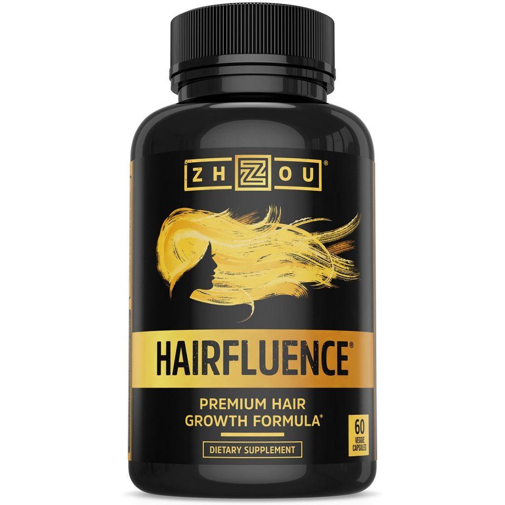 Hair health product HAIRFLUENCE - Hair Growth Formula For Longer, Stronger, Healthier Hair