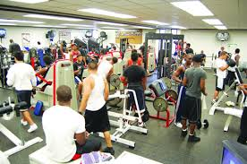 An image of an overcrowded gym