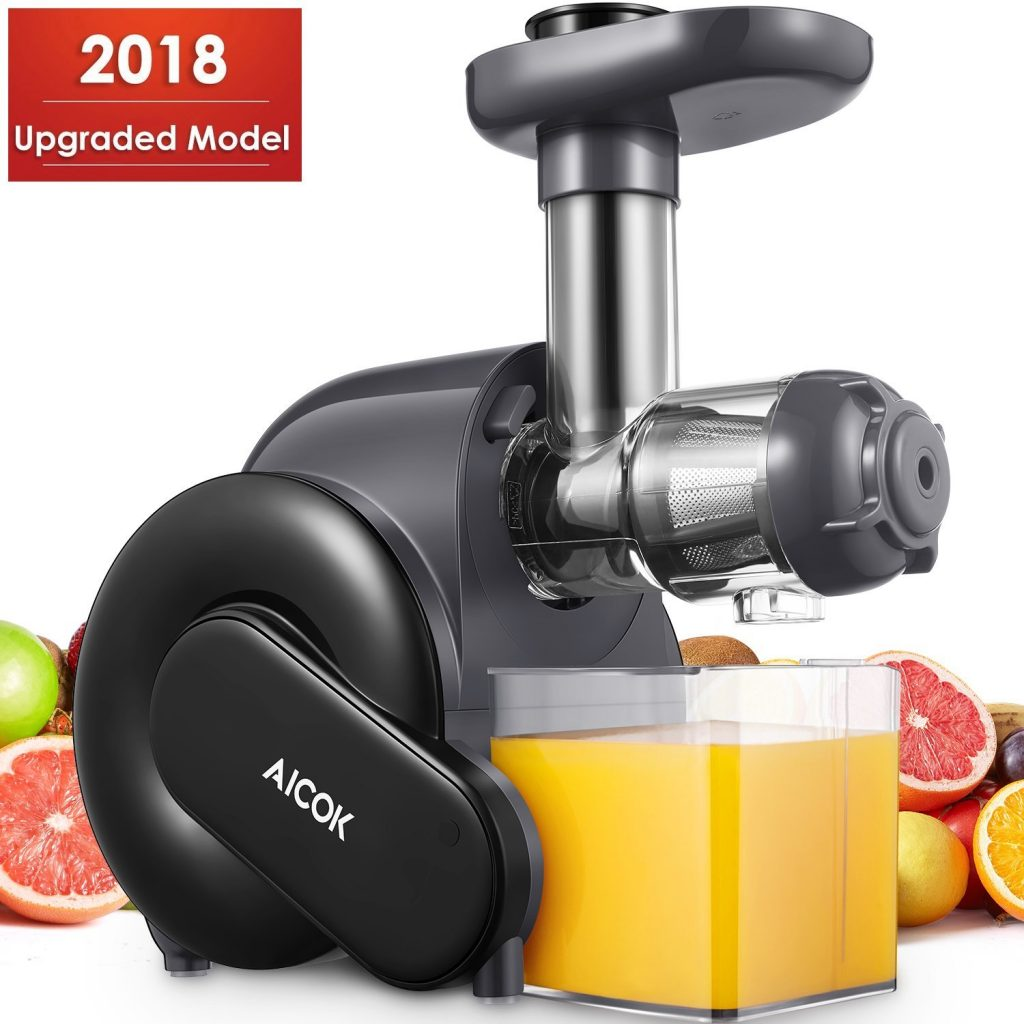 Aicok Slow Masticating Juice Extractor with Reverse Function