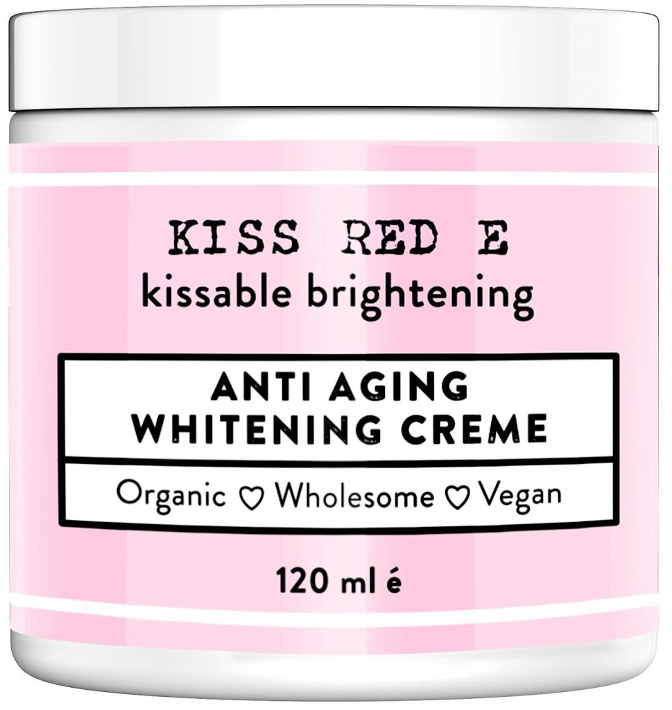 An image of the Kiss E Red anti aging skin care cream
