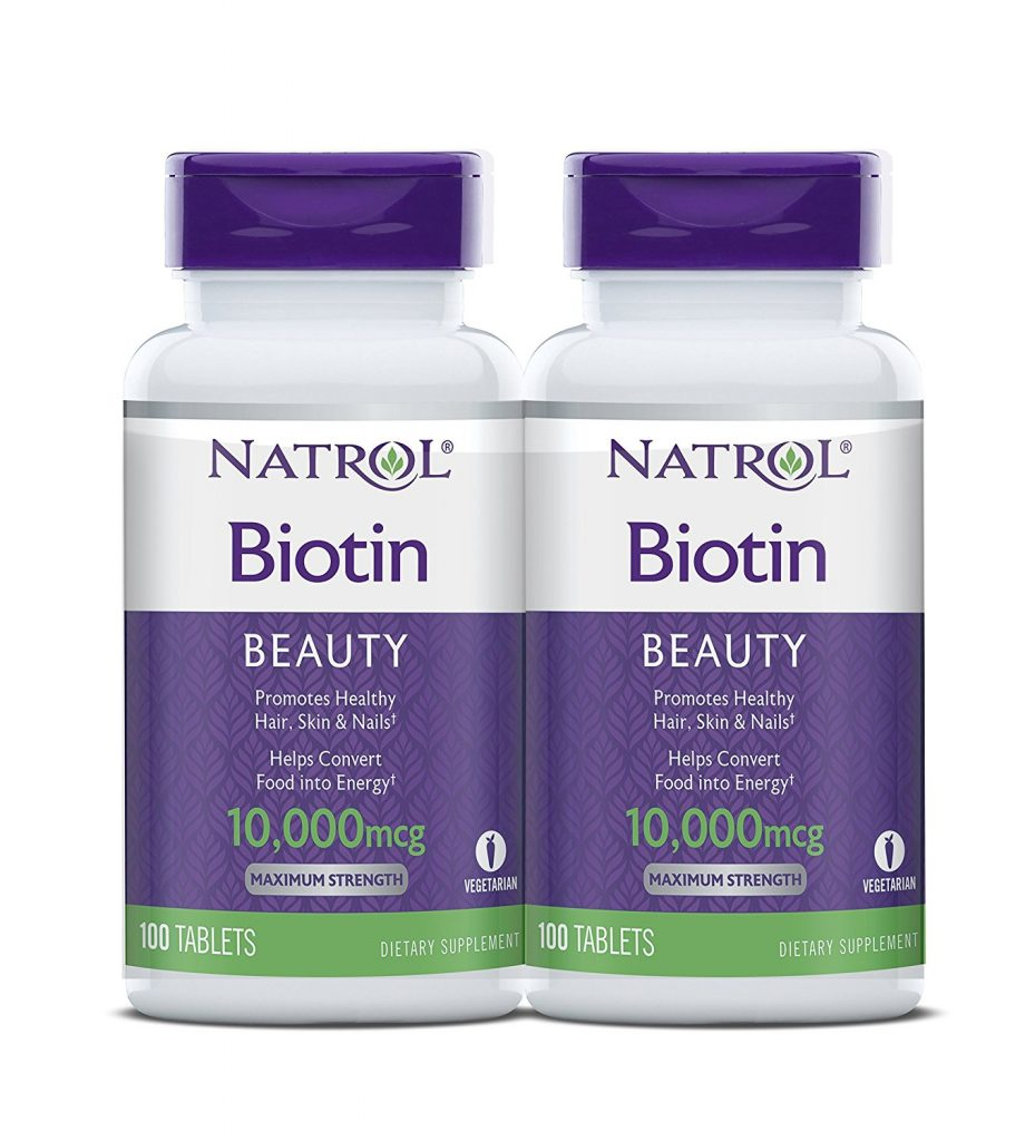 Hair health product Natrol Biotin Maximum Strength Tablets