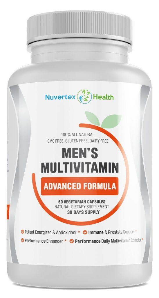Nuvertext Men's Daily Multivitamin Supplement