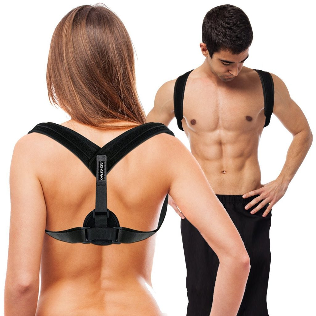 Plytoech back and posture corrector is great for both men and women