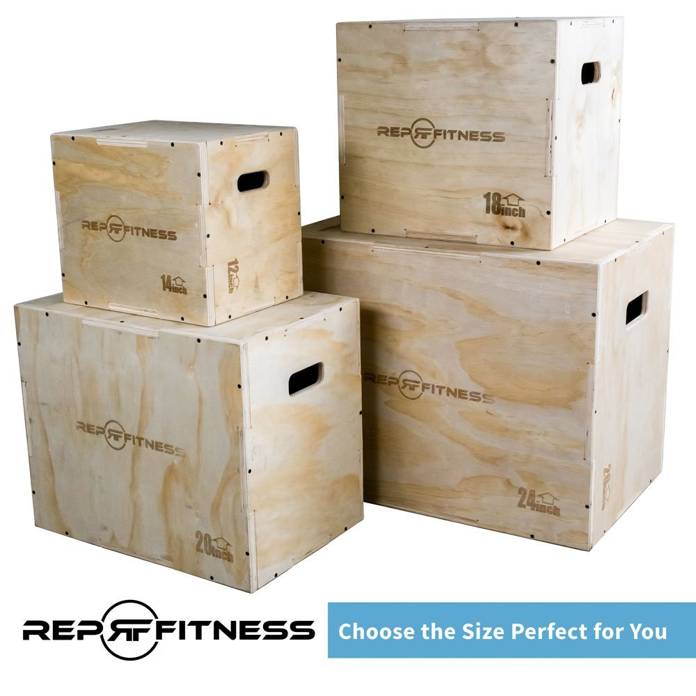 Rep 3 in 1 plyo box jump set