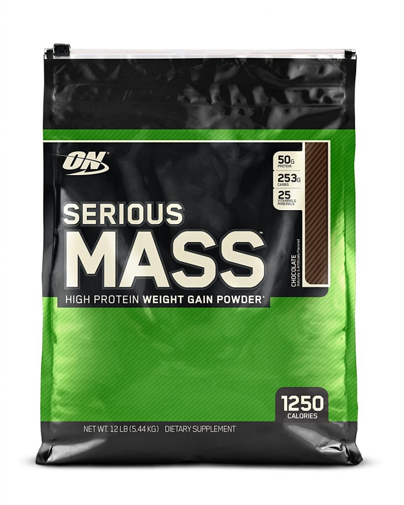Serious Mass Gainer Protein powder for extreme muscle building