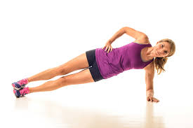 An image of a proper side plank