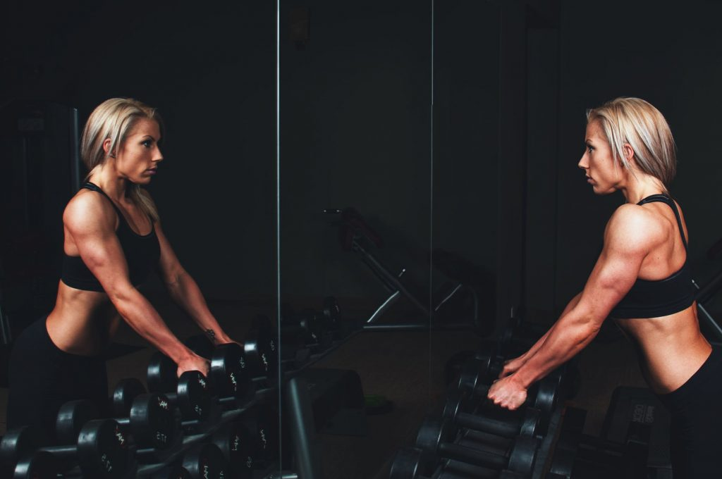 Strength training can include: deadlifts, bench press, and resistance training and is great to burn fat