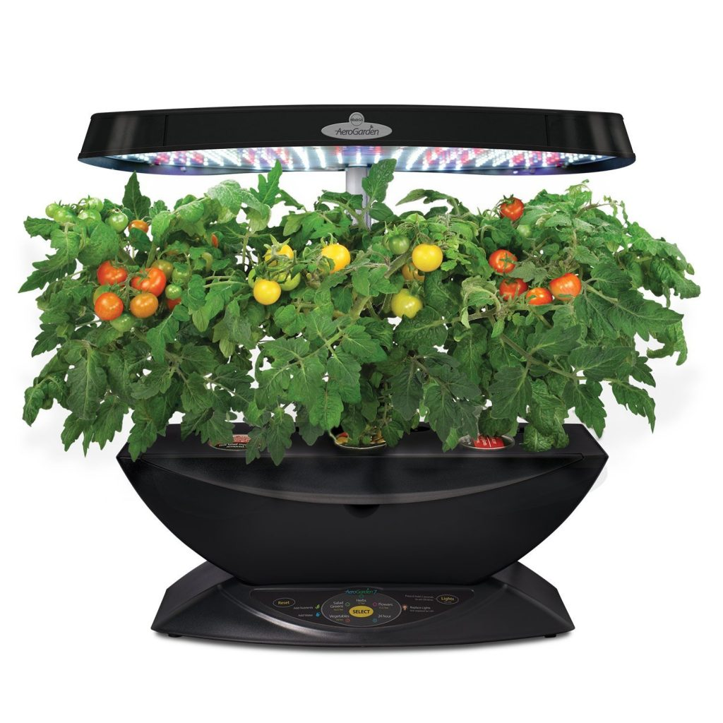 The AeroGarden 7 vegetable grower for indoors