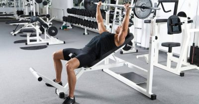 Incline Press for sculpting chest