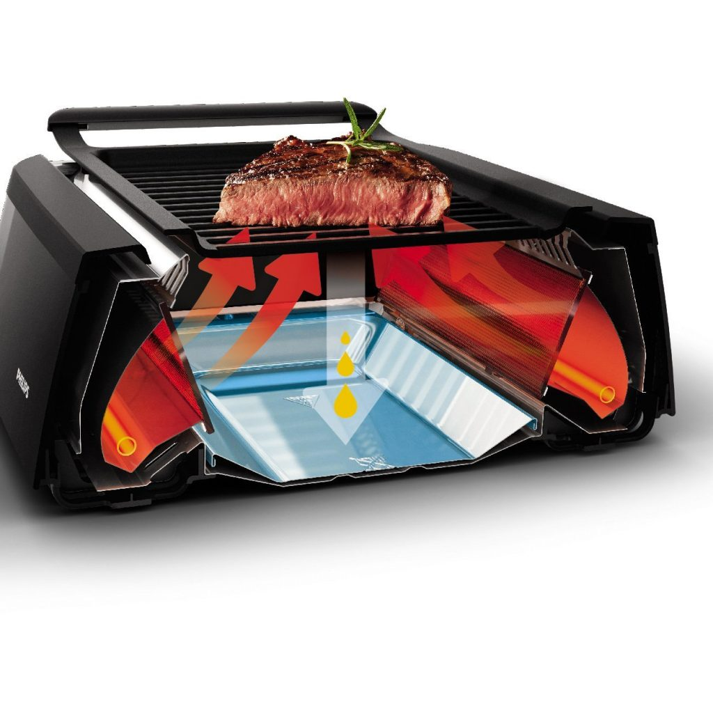 The Philips smoke-less indoor bbq grill