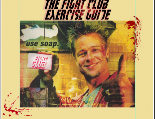 The Brad Pitt Fight Club workout and Exercise Guide